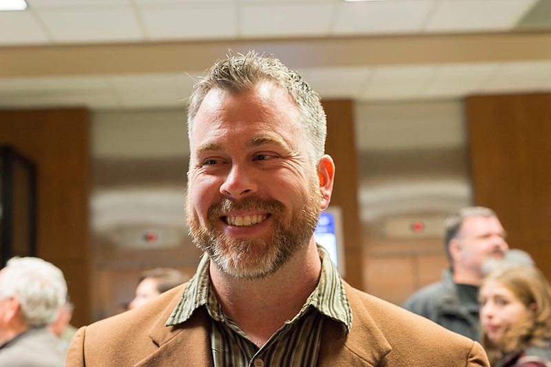 Brian White was all smiles after being elected to Sarnia council Monday night. White was the top vote-getting among 20 candidates seeking a city-only seat, a list that included two incumbents. Glenn Ogilvie