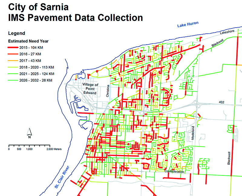 Opinion Why City Council Earns An F On Roads The Sarnia