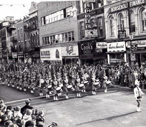 The Lionettes on parade. Submitted Photo