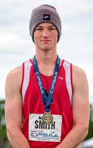 Sebastian Smith won a gold medal in high jump at the Ontario high school track championships. Bruce Smith, Special to The Journal
