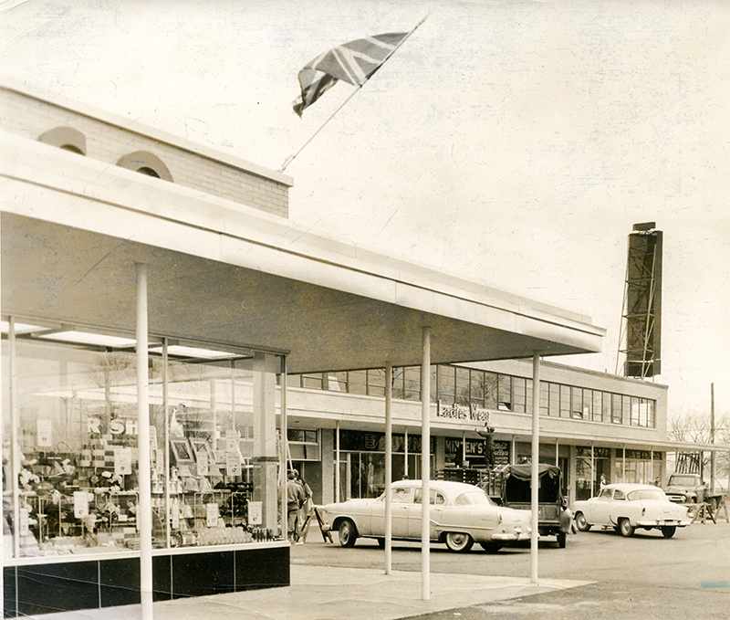 Opening of Northgate in 1955 was a big deal for Sarnians