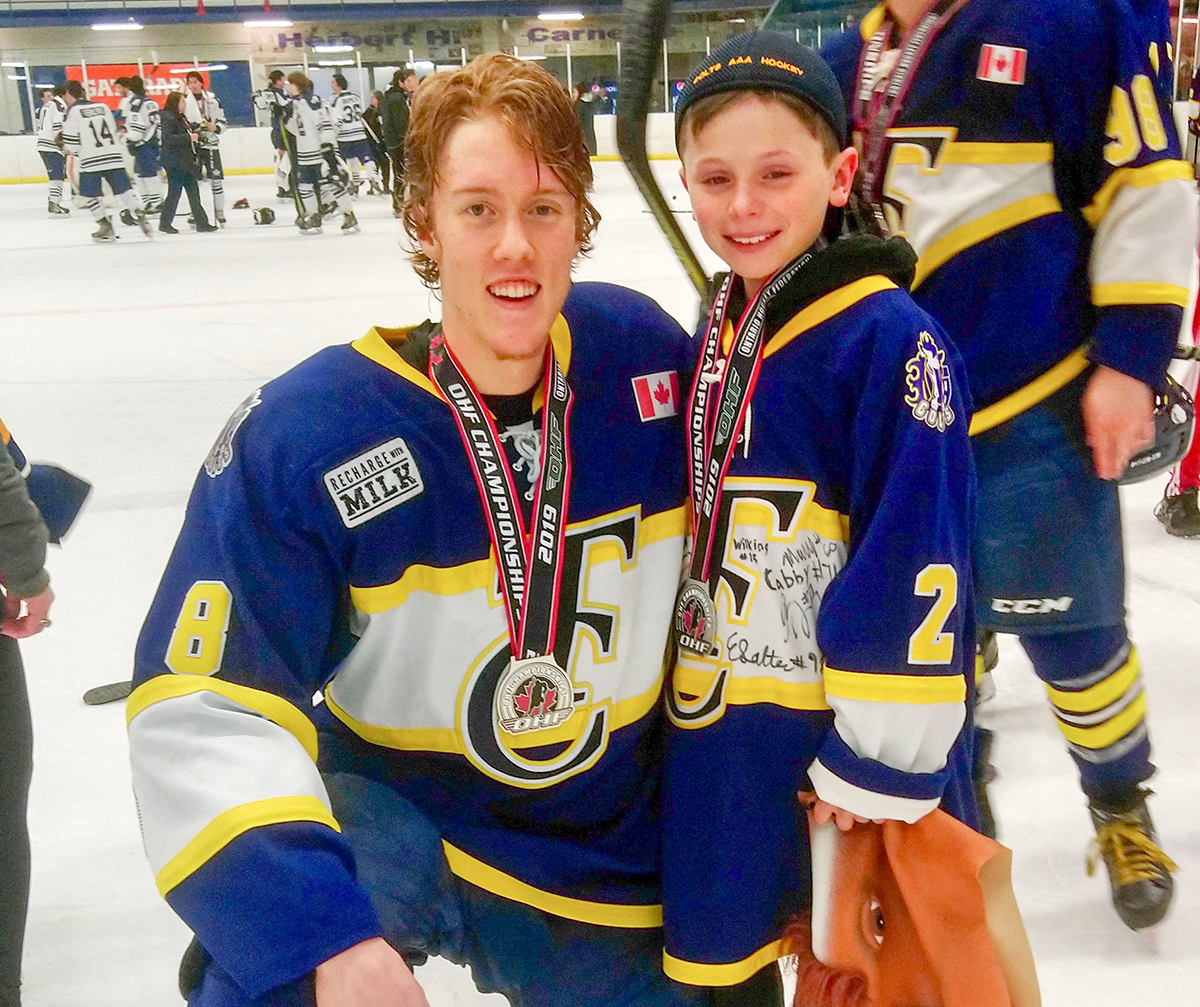 Young Lucky Charm Helped Make Hockey Magic In Toronto The Sarnia